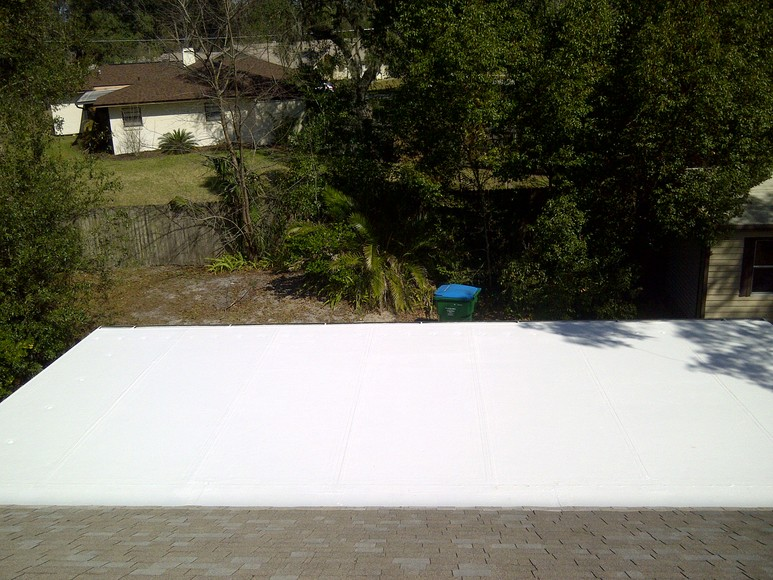 Roof Waterproofing Example Gallery Winter Springs